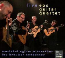 EOS GUITAR QUARTET - EOS GUITAR QUARTET LIVE   CD NEUF