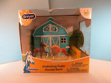 BREYER STABLEMATE-Frolicking Foals Pocket Barn-New In Package