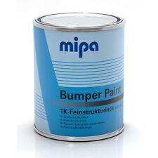 Strukturlack für Kunststoff SCHWARZ Mipa Bumper Paint 1K Strukturbeschichtung 1L