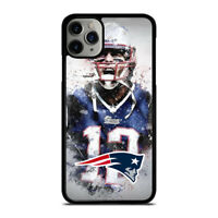 TOM BRADY NEW ENGLAND PATRIOT ART iPhone 6/6S 7 8 Plus X/XS XR 11 Pro Max Case