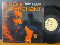 Sam Lazar - Soul Merchant 1962 Argo Hard Bop Soul Jazz Promo Vinyl LP