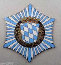 original 1932 POLIZEI 3. Polizeisternfahrt  Bayern Bayer.Pfalz