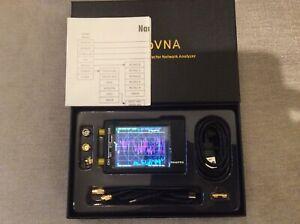 NEW NanoVNA  Vector Network Analyser 50khz to 1.5Ghz, fully sealed,(UK Seller)