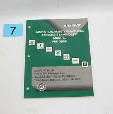 1997 GM Inspection Maintenance Emission Diagnostic Pre OBDII  Service Manual #7