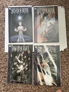 Silver Surfer Requiem #1-4 Complete Set Marvel Comics 2007 NM!