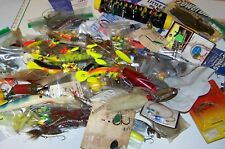 ASSORTED FISHING TACKLE MEDIUM FLAT RATE BOX LOT 7#