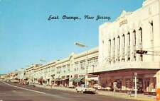 Orange New Jersey Central Ave Street Scene Vintage Postcard K36903