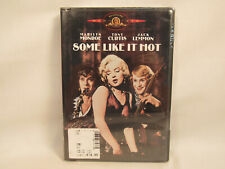 Some Like It Hot 1959 Dvd Monroe Curtis Lemmon New Factory Sealed