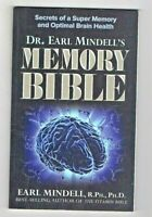 THE MEMORY BIBLE ~ Secrets of a Super Memory and Optimal Brain Health~MINDELL