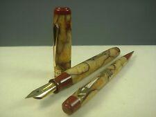 MINT〝SUPER COLOR〞Vintage WATERMAN  Patrician Onyx (SET) FP+MP Fountain Pen +MP
