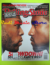 ROLLING STONE USA MAGAZINE 1035/2007 50 Cent Kaine West Patti Scialfa   No cd