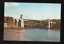 C1970s View of the Menai Straits Suspension Bridge