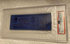 RARE 1953  ORIGINAL ROCKY MARCIANO  vs JERSEY JOE WALCOTT  Boxing  Ticket PSA 5