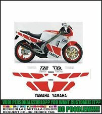 kit adesivi stickers compatibili  tzr 250 1985