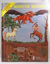 AD&D 4th Beta Monster Manual VG++ TSR Gary Gygax AD&D (1e and 2e), Rare TSR