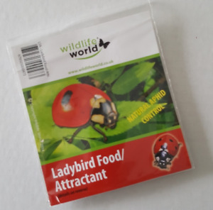 Ladybird food & Attractant aphid blackfly whitefly control