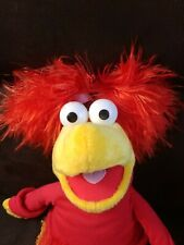 2006 Fraggle Rock Red Plushie Feather piggies And Tail