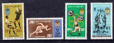 Birmania 1969 giochi della penisola sud est asiatico Mnh