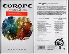 "EUROPE ""Live Look At Eden"" (CD+DVD Book) 2011 NEUF"