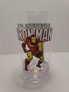 Marvel Retro Classic Iron Man 16oz Shatter-Proof Acrylic Cup New!
