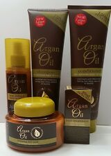 ARGAN OIL HAIR SHAMPOO &Conditioner, Hair Mask, Leave in Spray &Hair Treatment