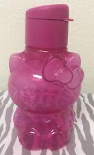 Tupperware Sanrio Hello Kitty Eco Water Bottle 14 oz Pink New