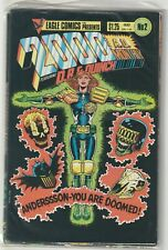 2000 A.D. Set 1985-86 Eagle Comics Alan Moore Brian Bolland Judge Dredd Skizz Dr