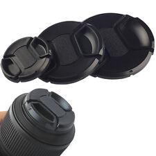 10pcs 58mm Lens Cap Plastic Center Snap-on Protector for All 58mm DSLR Filter