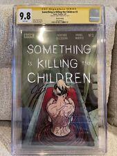 SOMETHING IS KILLING THE CHILDREN #3 2ND SECOND PRINT CGC 9.8BOOM! RARE HTF