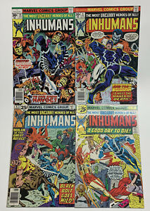 Marvel Comics Group The Inhumans Uncanny Lot of 4 A Good Day To Die