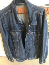 Levi's Denim Genuine Jacket As New, Must Have Genuinely In Excellent Condition