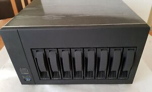 Mini-ITX NAS Storage Server 8-Bay HDD HOT SWAP Case Chassis Enclosure PSU Kit