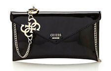 Guess Spring Fling Crossbody Clutch Black, Women's Bag Shoulder Bag Handbag