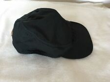 Auth Black drivers cap leather emblem from Gucci Gr. S Hut Mütze 100% Original