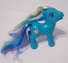 My Little Pony Hasbro 2004  Seaspray Starfish Blue Mermaid Hair MLP