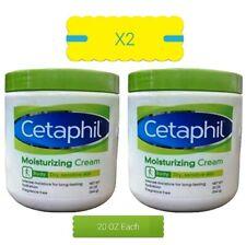 Cetaphil Moisturizing Cream 2-pack x 20 oz,  NEW