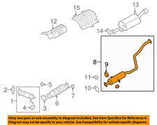 KIA OEM 10-13 Forte 2.4L-L4-Muffler 286501M500