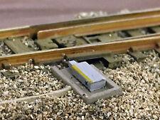 MU N-A00040 - 6 Weichenantriebe, maßstäblicher Dummy - Spur N - NEU