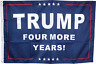 2X3 TRUMP FOUR MORE YEARS FLAG DOUBLE SIDED ROUGH TEX ® U.S.A. PRESIDENT DONALD