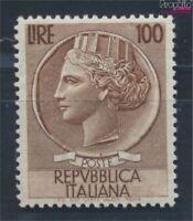 Italien 920A Wasserzeichen Flügelrad postfrisch 1954 Italia (7715350