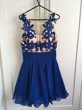 Chi Chi Women's Blue Dress Size 8