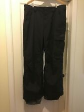 Men's Burton Dryride Black Winter Waterproof Snowboard Ski Pants Sz xtra large.
