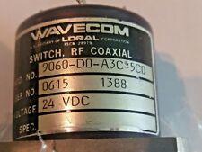 Wavecom Loral RF Coaxial Switch SP6T 9060-D0-A3C-5C0 24VDC