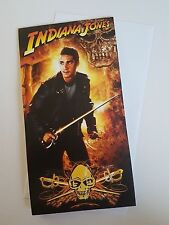 Indiana Jones  Birthday card Poster - Card opens to star burst poster