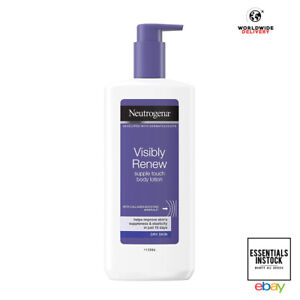 Neutrogena Visibly Renew Body Lotion 400ml Dry Skin Collagen Boost Minerals