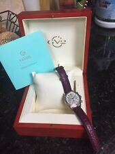 Gevril LAFAYETTE  2900 Limited Edition 362/500 Chronograph Ladies Watch