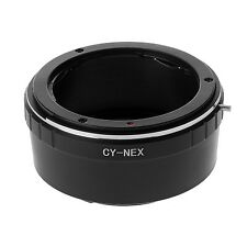 ADATTATORE PER CONTAX YASHICA SONY NEX C/Y ANELLO A7R A7 ADAPTER RING CY