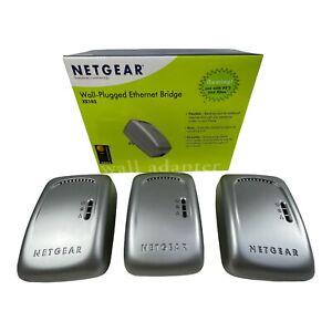 Netgear XE102 Powerline Network Bridge Wall Plugged Ethernet Extender PS2 XBOX