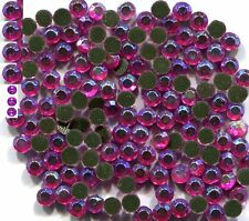 Rhinestones AB  IMPERIAL PINK    2mm ss6 Hot Fix  1 gross