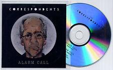 THE CORRESPONDENTS Alarm Call UK 2-trk promo test CD radio edit album version